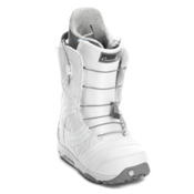 Burton Emerald Womens Snowboard Boots, White-Silver, medium