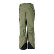 Obermeyer Saranac Short Mens Ski Pants, Mineral Green, medium