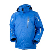 Obermeyer Stinger Mens Insulated Ski Jacket, Skydiver Blue, medium