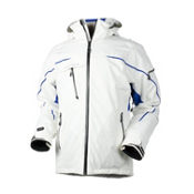 Obermeyer Kestrel Mens Insulated Ski Jacket, White, medium