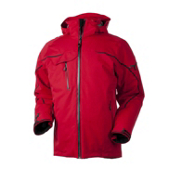 Obermeyer Kestrel Mens Insulated Ski Jacket, True Red, medium