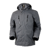 Obermeyer Teton Mens Insulated Ski Jacket, Smoke, medium