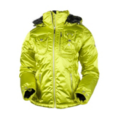 Obermeyer Leighton Womens Insulated Ski Jacket, Peridot, medium