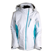 Obermeyer Coco Womens Insulated Ski Jacket, Waterfall, medium