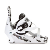 Ride Micro Kids Snowboard Bindings 2013, White, medium