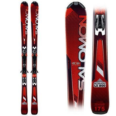 Salomon Enduro LX 800 Skis with Salomon Z10 Smartrak Bindings, , large