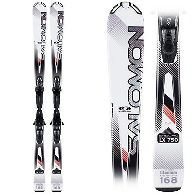 Salomon Enduro LX 750 Skis with Lightrak L10 Bindings, , viewer