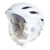 Salomon Idol 08 Custom Air Womens Helmet 2013, White Matte-Gold, medium