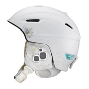 Salomon Icon Custom Air Womens Helmet 2013, White Matte-Gold, medium