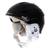 Salomon Icon Womens Helmet 2013, Black Matte, medium