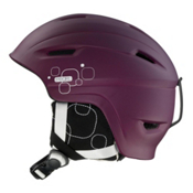 Salomon Pearl Origins Womens Helmet 2013, Violet Matte, medium