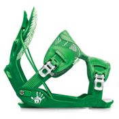 Flow The Five Snowboard Bindings, Green, medium