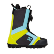 DC Scout Snowboard Boots, Blue-Yellow-Grey, medium