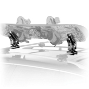 sale item: Thule 575 Snowboard Car Roof Rack