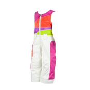 Obermeyer Love Toddler Girls Ski Pants, Marshmallow, medium