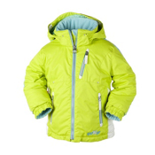 Obermeyer Nirvana Toddler Girls Ski Jacket, Limeade, medium