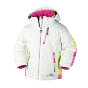 Obermeyer Nirvana Toddler Girls Ski Jacket, Marshmallow, medium