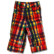 Obermeyer Race Toddlers Ski Pants, Madras Plaid, medium