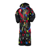 Obermeyer Speed Toddlers One Piece Ski Suit, Block Print, medium