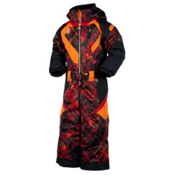 Obermeyer Speed Toddlers One Piece Ski Suit, Red Schematic Print, medium