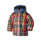 Obermeyer Slalom Toddler Ski Jacket, Madras Plaid, medium
