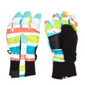 Obermeyer Thumbs Up G Toddler Girls Gloves, Stripecicle Print, medium