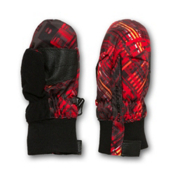 Obermeyer Thumbs Up B Toddlers Mittens, Red Schematic Print, medium