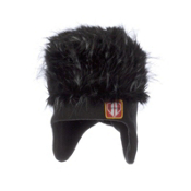 Obermeyer Fur Top Toddlers Hat, Black, medium