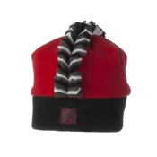 Obermeyer Mulitia Fleece Toddlers Hat, True Red, medium