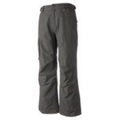 Obermeyer Rail Yard Shell Mens Ski Pants, Granite, medium