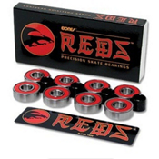 ESS Bones Red Skateboard Bearings - BONES, , medium