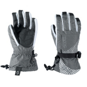 Scott Corbin Womens Gloves, Grey-White, medium