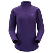 Arc'teryx Delta LT Zip Fleece Womens Mid Layer, Blackberry, medium