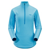 Arc'teryx Delta LT Zip Fleece Womens Mid Layer, Reef Blue, medium
