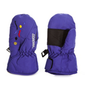 Gordini Scribble Toddlers Mittens, Cobalt, medium