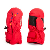 Gordini Scribble Toddlers Mittens, Red, medium