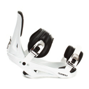 5th Element Stealth Snowboard Bindings 2013, White-Black, medium