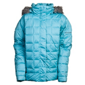 Columbia Mercury Maven Ski Womens Jacket, Aqua Haze, medium