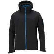 Salomon Snowtrip III 3:1 Mens Insulated Ski Jacket, Black-Vibrant Blue, medium
