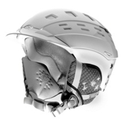 Smith Variant Brim Womens Helmet, White Fallen, medium