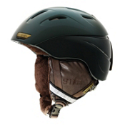 Smith Intrigue Womens Helmet, Shadow Green Bristol, medium