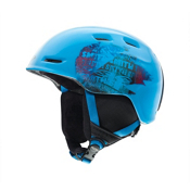 Smith Zoom Jr Kids Helmet 2013, Cyan Fader, medium