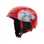 Smith Zoom Jr Kids Helmet 2013, Red Fader, medium
