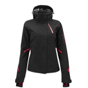 Salomon Brilliant Womens Insulated Ski Jacket, Black, medium