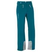 Salomon Brilliant Womens Ski Pants, Dark Bay Blue, medium