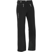 Salomon Brilliant Womens Ski Pants, Black, medium