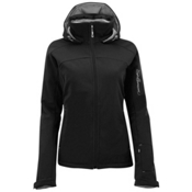 Salomon Snowtrip 3:1 Womens Insulated Ski Jacket, Black-Black, medium