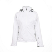 Salomon Snowtrip 3:1 Womens Insulated Ski Jacket, White-White, medium