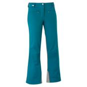 Salomon Snowtrip II Womens Ski Pants, Dark Bay Blue, medium