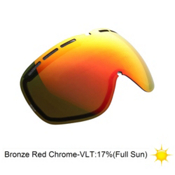 Electric EG2 Goggle Replacement Lens 2014, Bronze-Red Chrome, medium